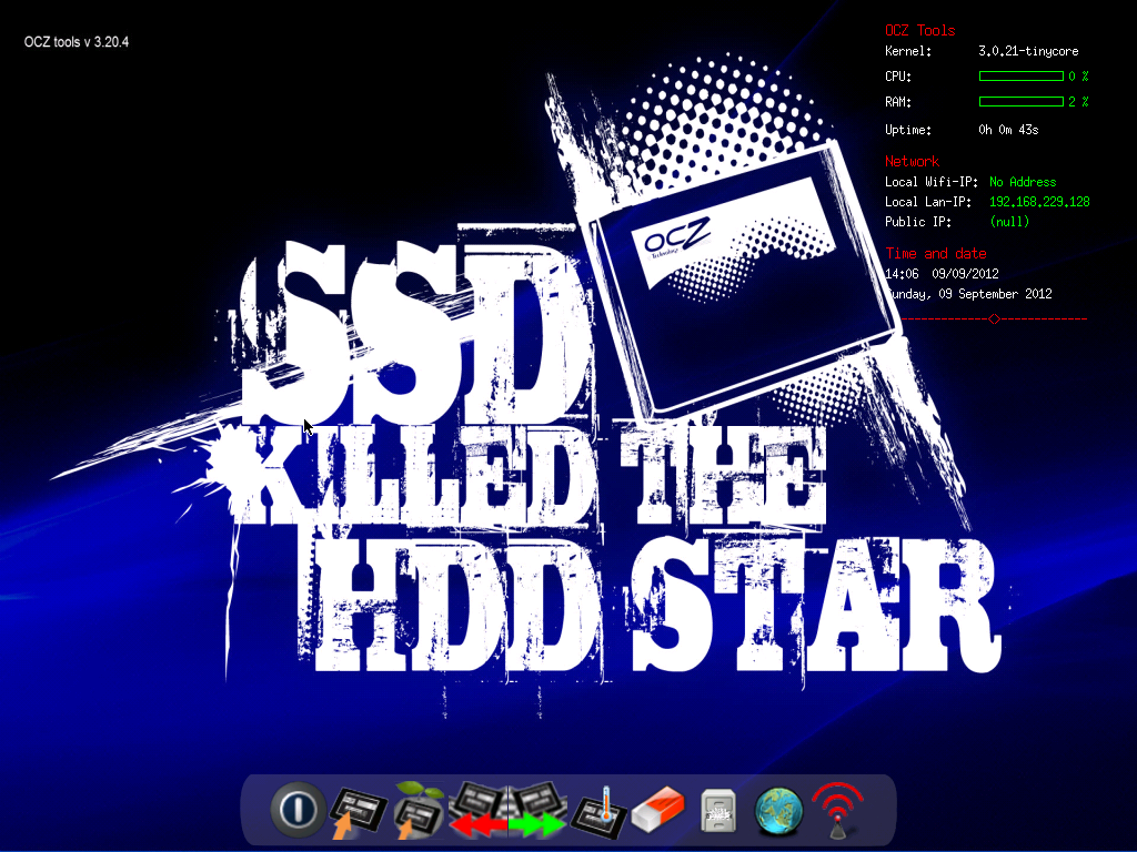 Opdater firmware på din OCZ SSD Disk